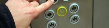 Los botones de los ascensores protegidos con antimicrobianos LIFE®